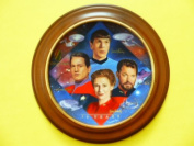 """Star Trek 30th Anniversary Collector's Plate """"Second in Command"""""""