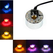 High Output Mist Maker With RGB LED Lights In Line Controller