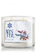 Bath & Body Works 3 Wick Winter Scented Candle 2014