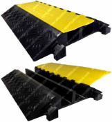 2 Channel Extreme Rubber Cable Protector