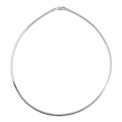 3mm Sterling Silver Omega Necklace Chain