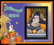 Halloween 2014 - Picture Frame Gift