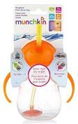 Munchkin Click Lock 210ml Weighted Straw Flexi Cup (Orange) by Munchkin