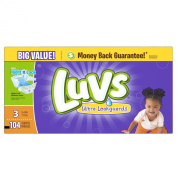 Luvs Ultra Leakguards Nappies (7.3-13kg) - 104 CT