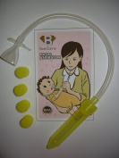Nasal Aspirator From BeeGoline with 5 Filters for Baby Nose Suction. Provide Relief to Your Baby Now!