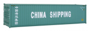 Walthers SceneMaster HC RS China Ship Container, 12m