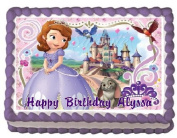 Sofia the First 4 Edible Frosting Sheet Cake Topper - 1/4 Sheet