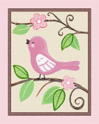 Love Birds, Flowers and Tree Nursery Art Prints