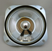 Philmore 10cm Square Replacement Speaker with Weatherproof Mylar Cone, 8 Ohm, 5W; TS45