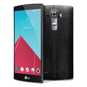 LG G4 H815 14cm Factory Unlocked Smartphone with Genuine Leather (Leather Black) - International Stock