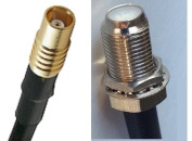 15cm RG316 MCX FEMALE to F FEMALE Pigtail Jumper RF coaxial cable 50ohm 6inch High Quality Quick USA Shipping