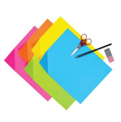 School Smart Colorwave Super Bright Tagboard - 12 x 18 - Pack of 100 - Assorted Colours