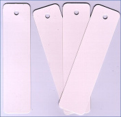 Bookmarks - Plain White -Made in USA 100 /Pk