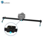 LimoStudio Photography Studio Blue 60cm Video Stabilisation System DSLR Camera Dolly Track Motion Slider, AGG1663