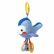 Manhattan Toy Link and Play Whale Teether and Rattle Travel Toy