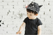 Domire Children Fashion Hat Star Print Outdoor Sport Cap Baby Baseball Hat