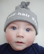 BAD HAIR DAY marl grey hat, 0-6 months 0-6 months