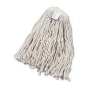 UNISAN Cut-End Wet Mop Head, Cotton, #20 Size, White
