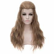Marvel's The Avengers 2 Thor Odinson Cosplay Long Curly Beauty Tip Brown Wigs