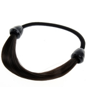 Neverland Beauty & Health Elastic Synthetic Rubber Band Braided Hair Ties Hairband Ponytail Hair Extensions Holders #4