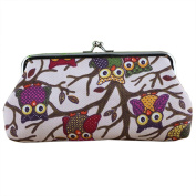 New Fashion Women Lovely Style Lady Wallet Hasp Owl Purse Clutch Bag