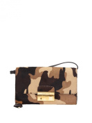 31F3GGAC1HOLIVE Michael Kors Clutches Women Pony Skin Brown