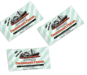 FISHERMAN'S FRIEND MINT Sugar Free Lozenges 3 x 25g FREE UK DELIVERY