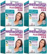 (4 PACK) - Vitabiotic - Wellwoman Plus | 56's | 4 PACK BUNDLE