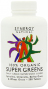 (3 PACK) - Synergy Natural - Org Super Greens SYN-BGO500T | 500's | 3 PACK BUNDLE