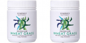 (2 Pack) - Synergy Natural - Org WheatGrass Leaf Powder | 200g | 2 PACK BUNDLE