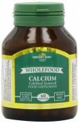 (4 PACK) - Natures Own - Wholefood Calcium 200mg | 60's | 4 PACK BUNDLE