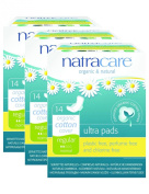 PACK OF 3 Natracare Ultra Pad With Wings Regular