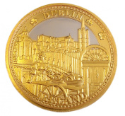 Collectors Edition Images of Dublin Coin