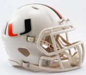 Riddell Miami Hurricanes College Football Speed Mini Helmet