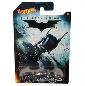 Hot Wheels Batman The Dark Knight BAT-POD Batmobile/ Bike Die-cast Car