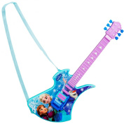 Disney Frozen Deluxe Childrens Kids Acoustic Electronic Guitar Musical Instrument Child Toy Xmas Gift