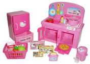 Hello Kitty Miniature Toy Kitchen Set from Japan
