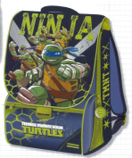 auguri preziosi 87654 backpack turtles estens medium c/gadget