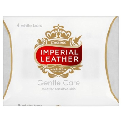 Imperial Leather Gentle Care Mild Soap for Sensitive Skin 4 x 100g
