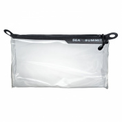 Travelling Light Zip Top Pouch transparent toiletry bag by Sea to Summit