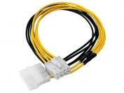 8 PIN 12V TO 4 PIN 14V CPU POWER CONNECTOR CABLE 30cm
