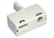 ADSL Filter Standard Type White BT Telephone adaptor