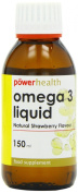 Power Health 150ml Omega 3 Liquid for Children Natural Strawberry Flavour