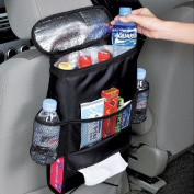 A-szcxtop Car Seat Back Ice Pack Bag Insulation Storage Multifunction Admission