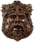 Beer Buddies Old Green Man Wall Mounted Bronze Finish Bottle Opener