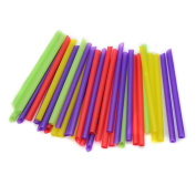 100 pcs Jumbo Large Drinking Straws For Cola Drink Smoothie Party Supply New