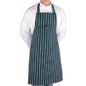 Bib Apron Blue/White Butchers Stripe - 90cm - 100cm - Great for increasing hygiene levels in your kitchen