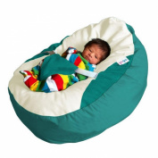GaGa Jade Luxury Cuddle Soft Baby Bean Bag With Adjustable Harness