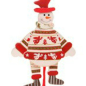Hanging Moving Christmas Tree Snowman Decoration