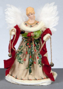 Natural Angel Tree Topper - Vintage Style